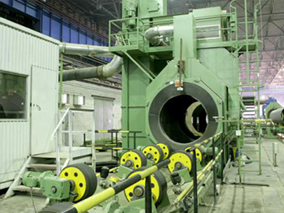 steel pipe blasting equipment