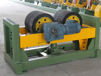 Steel pipe rotation equipment