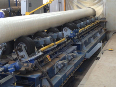 Steel pipe conveyor