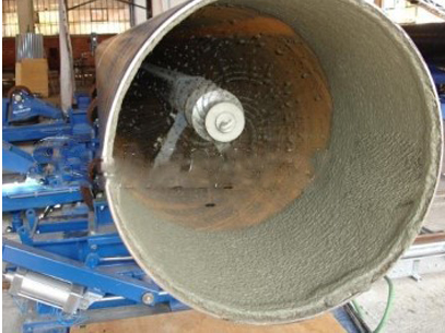 Steel pipe Cement Mortar Lining