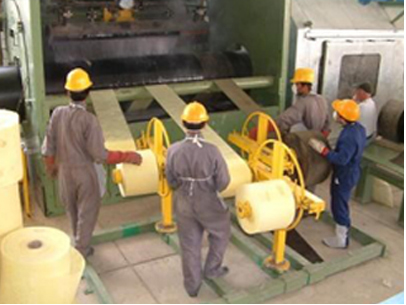 Steel pipe asphalt coating equipment